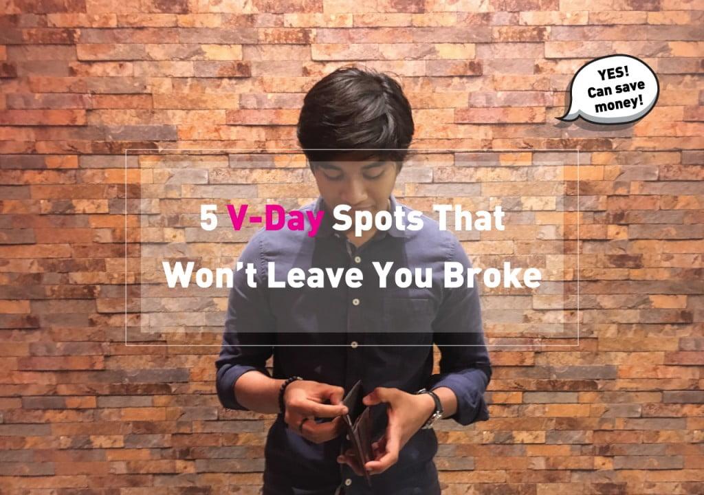 5 V-Day Spots That Won't Leave You Broke