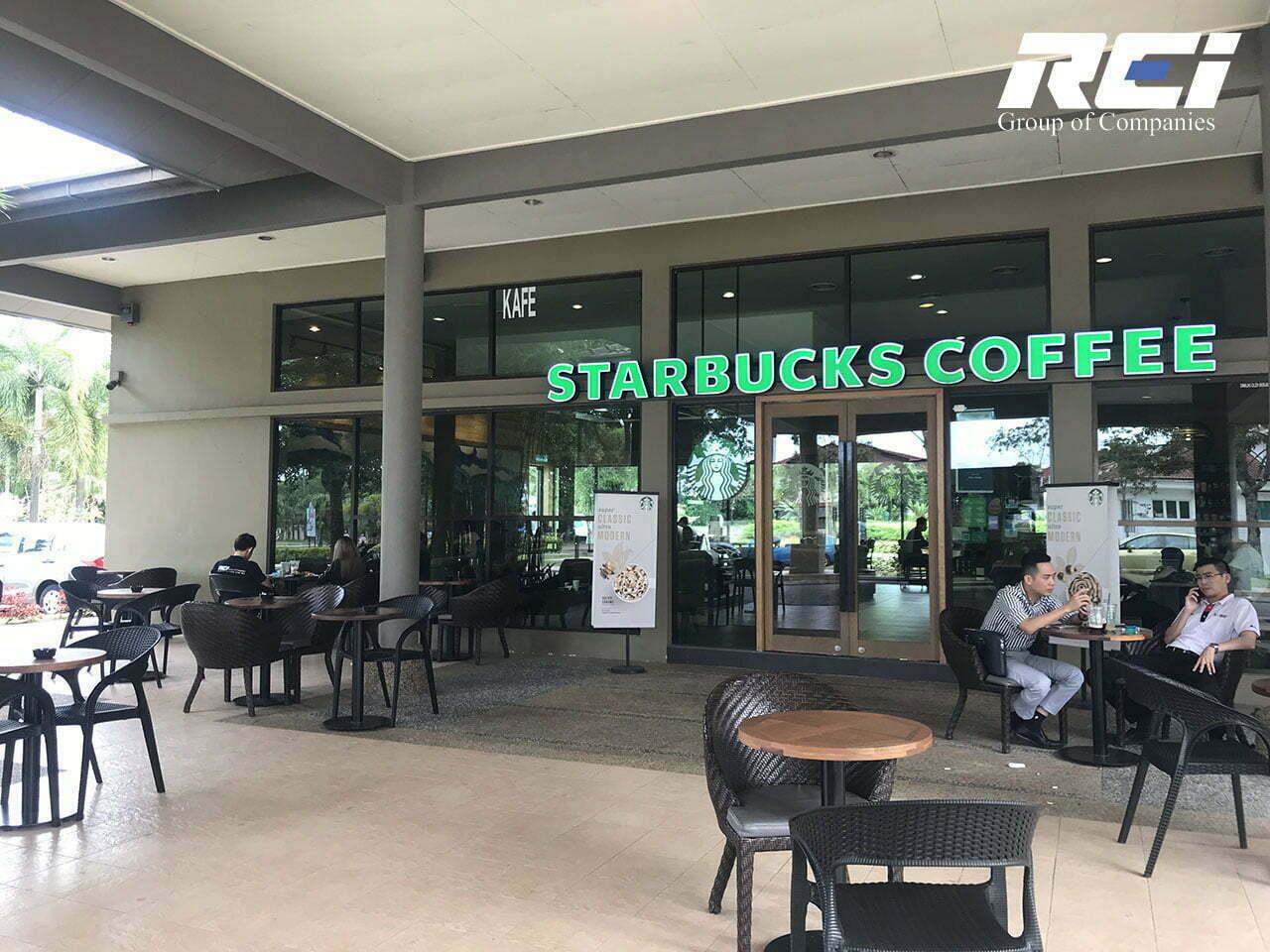 Starbucks Seri Austin, D'Lagoon Seri Austin, Johor