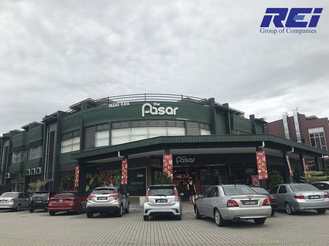 The Pasar, D'Lagoon Seri Austin, Johor